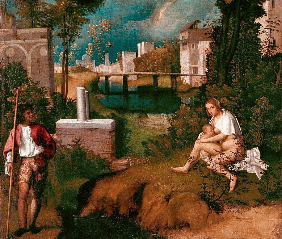 'La tempestad' de Giorgione