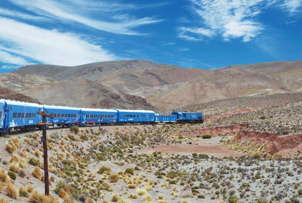 Tren en Salta, Argentina