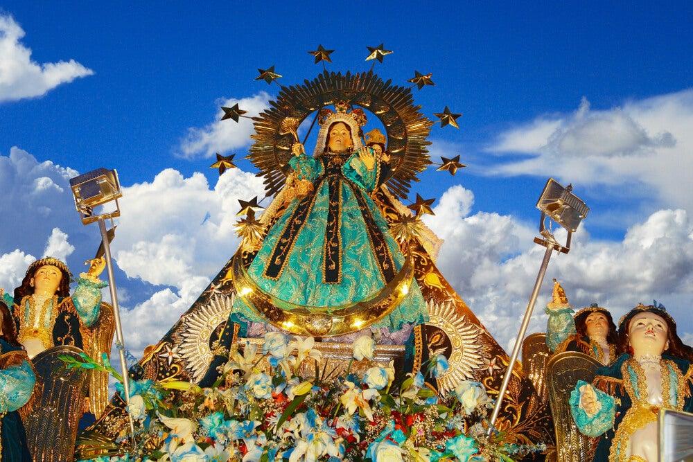 La fiesta de la Virgen de la Candelaria en Puno, Perú