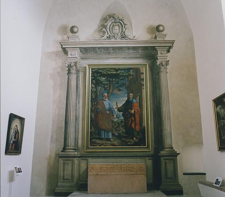 Altar fingido de Juan Sánchez Cotán