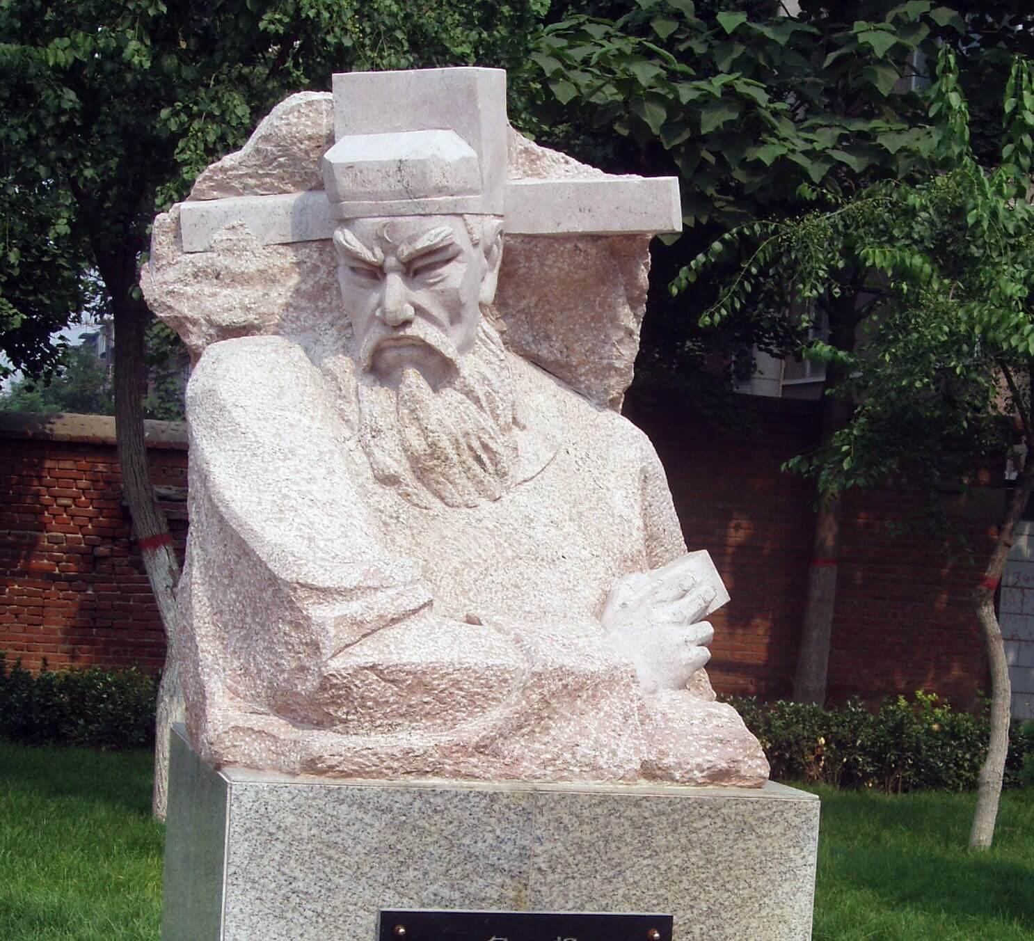 Estatua de Bao Zheng