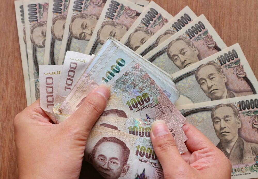 Billetes de 10 000 yenes