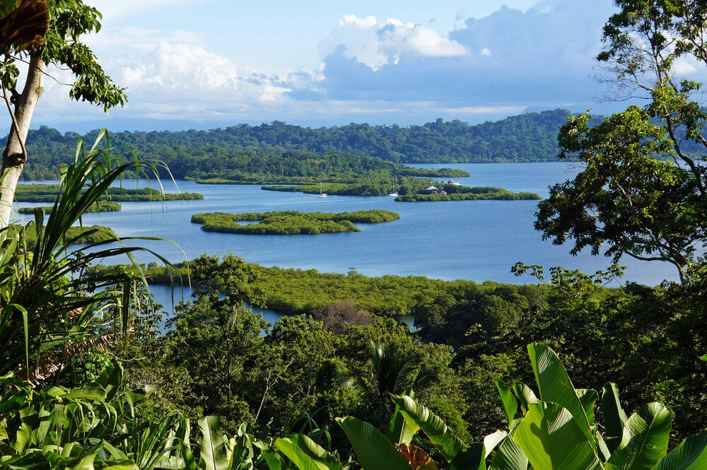 Paisaje de Bocas del Toro