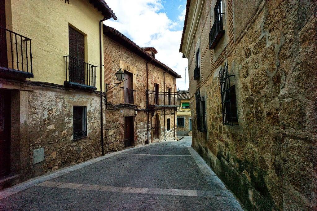 Calle de la villa