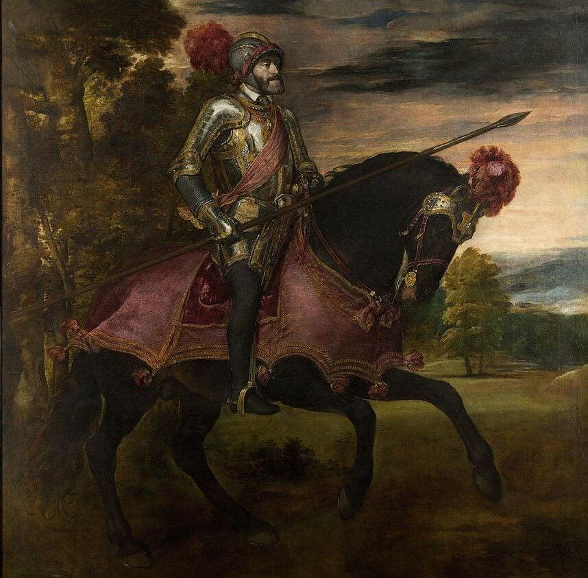 Retrato de Carlos V en Mulhberg