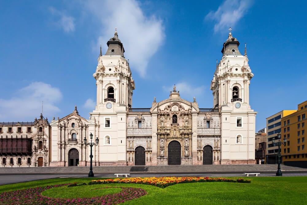 Lima, una de las catedrales de América Latina más bellas