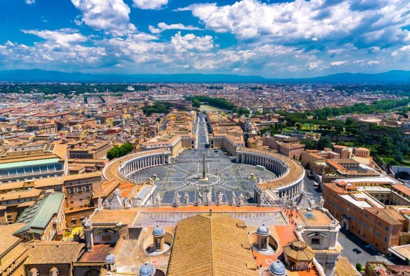 El Estado de la Ciudad del Vaticano, un país independiente