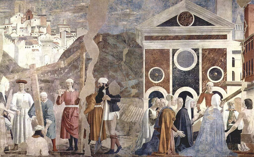 Descubrimiento y prueba de la Vera Cruz de Piero della Francesca