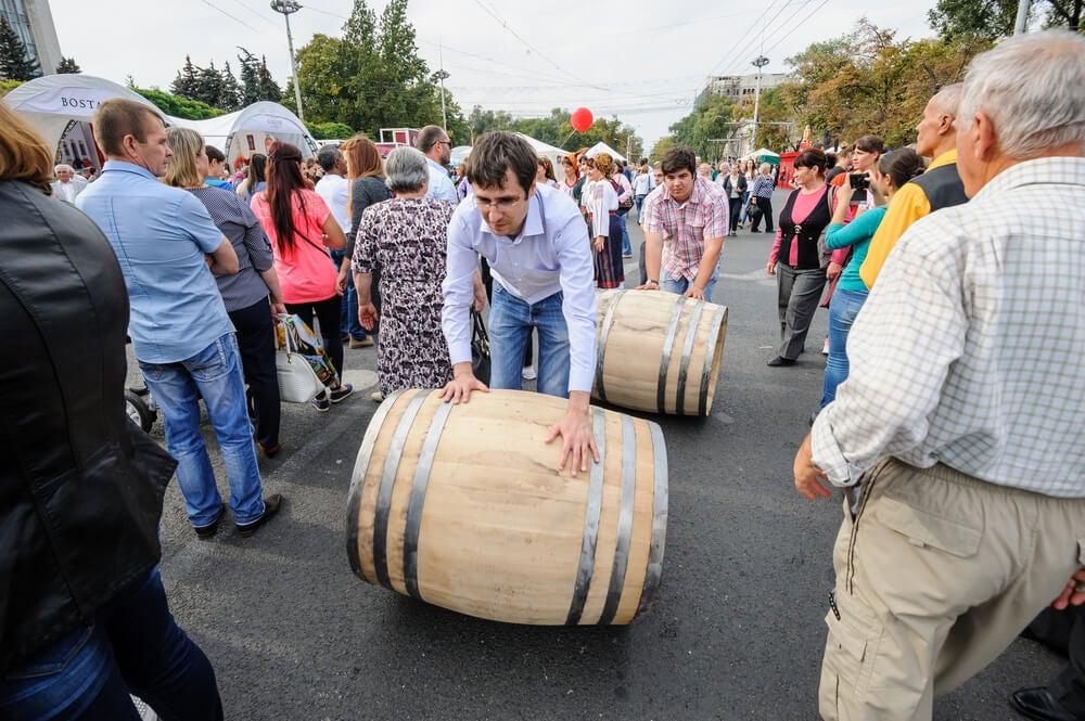 Día Nacional del Vino de Moldavia