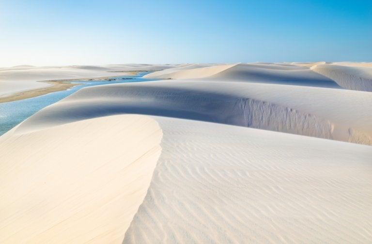 El desierto blanco de Lençois Maranhenses