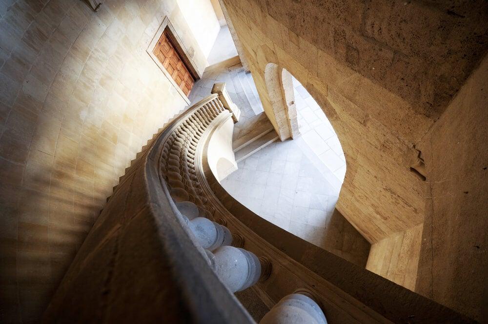 Escalera del palacio