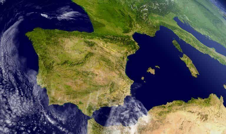 Geografía de la península ibérica y su organización territorial