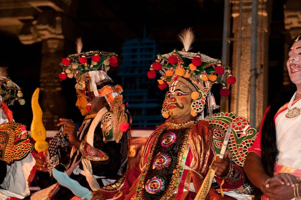 Espectáculo del Chennai Festival