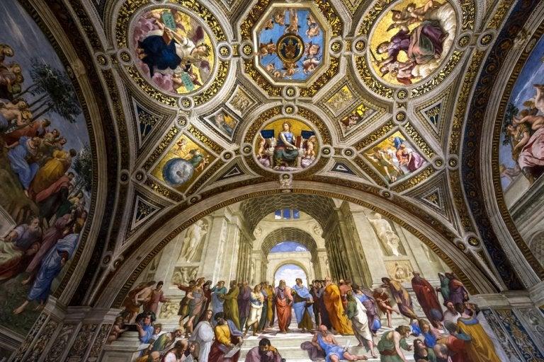 Las Estancias Vaticanas de Rafael Sanzio