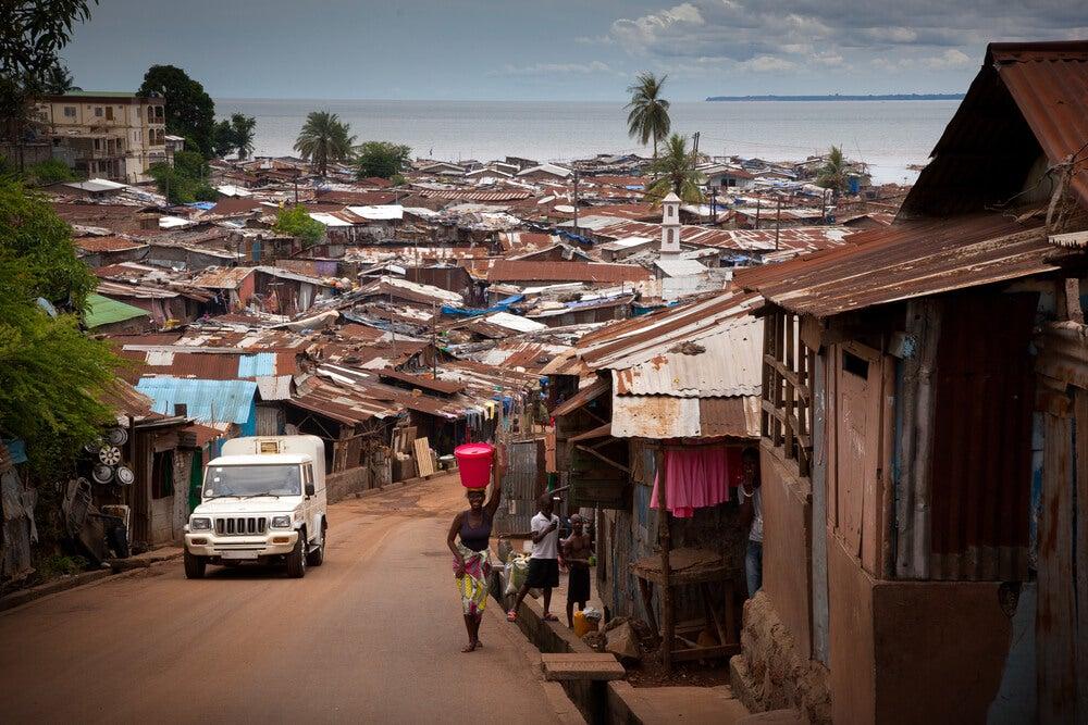 Freetown en Sierra Leona