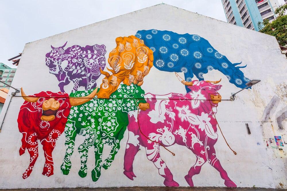 Grafitis de vacas