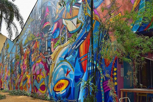 Graffiti en Singapur