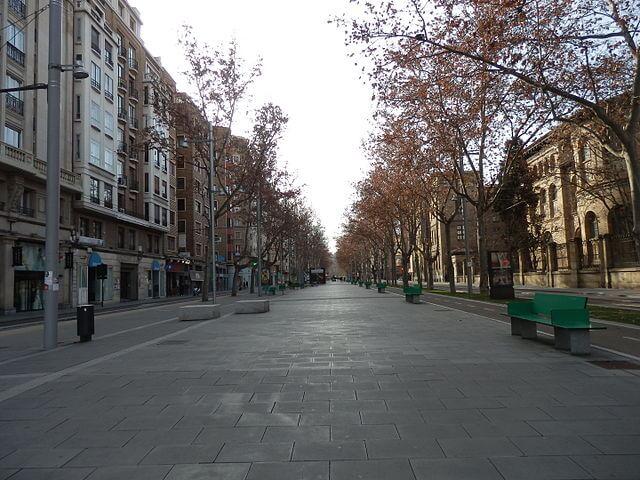 Gran Vía en España: Zaragoza