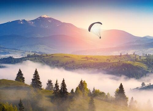 Los mejores lugares del mundo para saltar en paracaídas