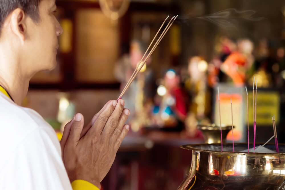 ¿Qué significa en la cultura china orar por la buena suerte?