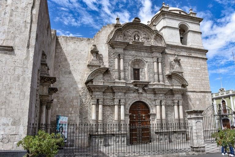 Los principales ejemplos del barroco andino en Arequipa