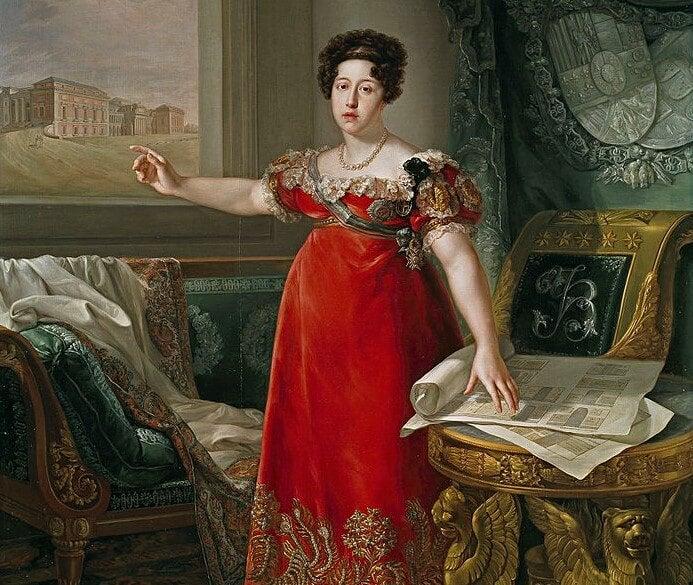 Retrato de Isabel deBraganza