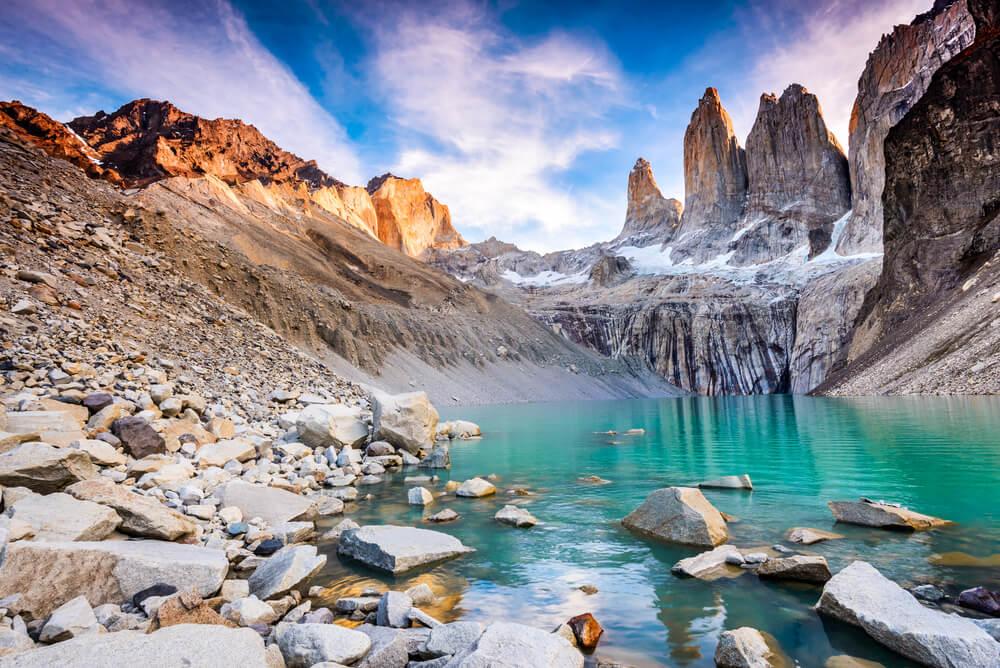 Laguna en Torres de Paine