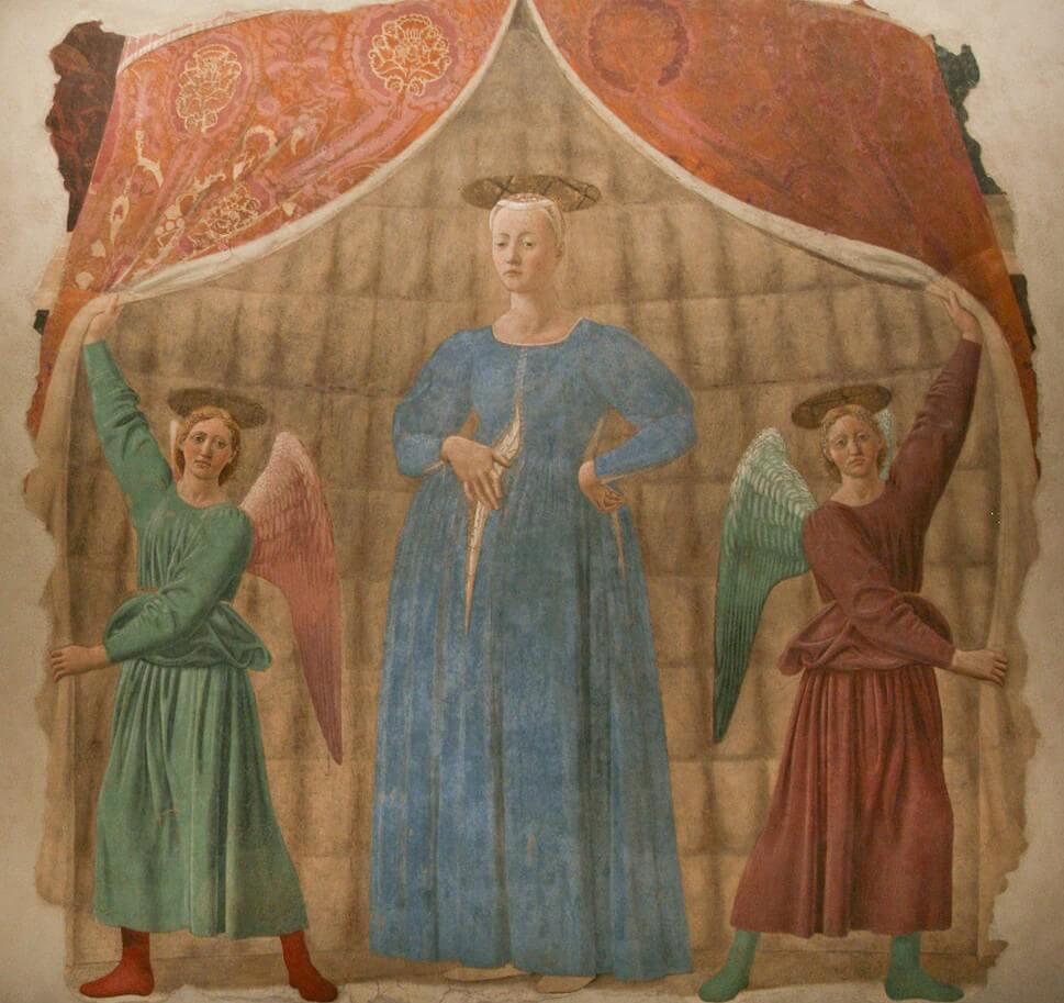 'Virgen del parto' de Piero della Francesca