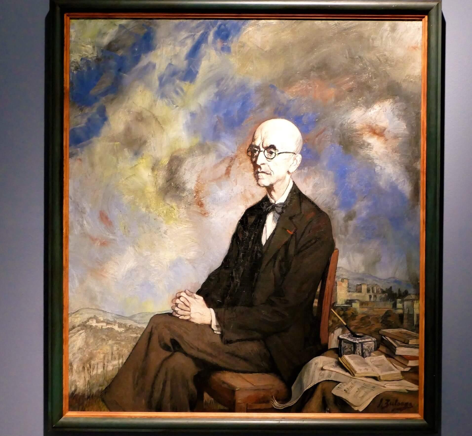 Retrato de Manuel de Falla