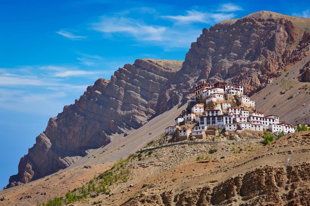 Monasterio de Kye en el valle de Spiti