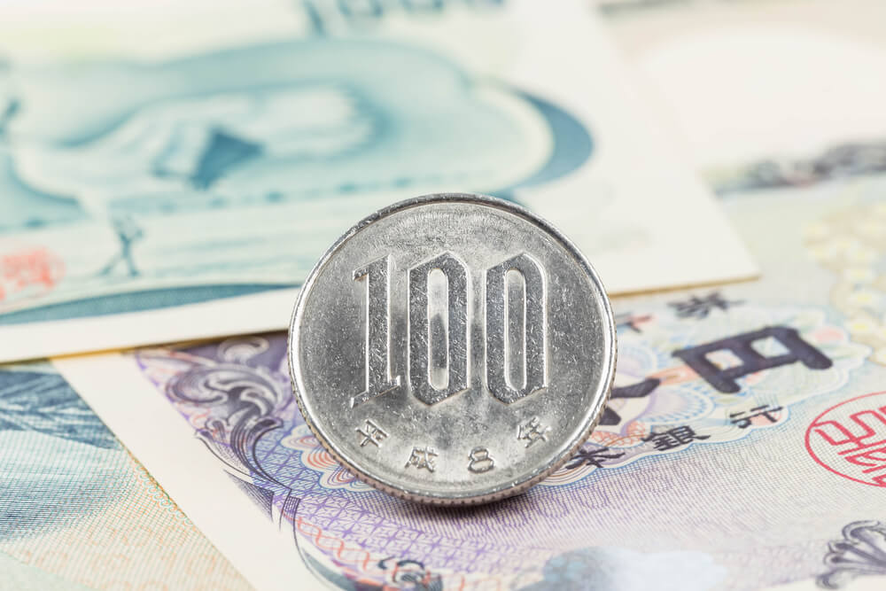 Moneda de cien yenes