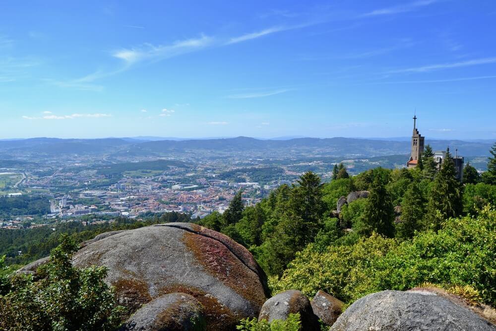 Un día en la montaña da Penha de Guimarães