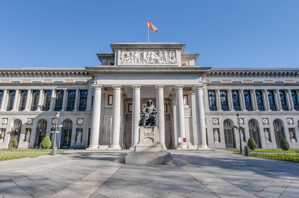 Fachada del Museo del Prado de Madrid