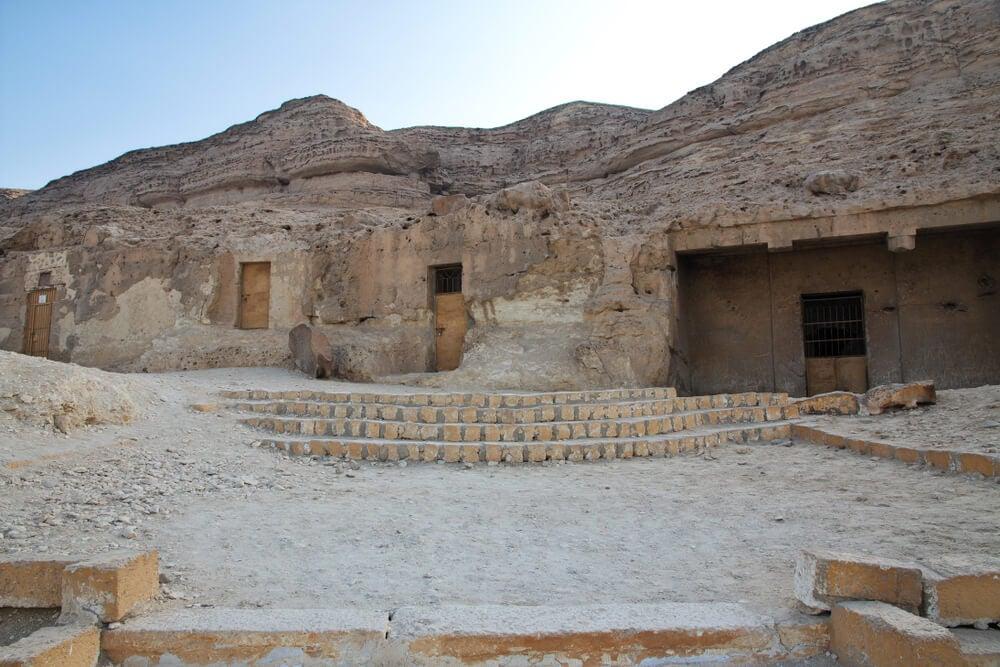 Necrópolis en Amarna