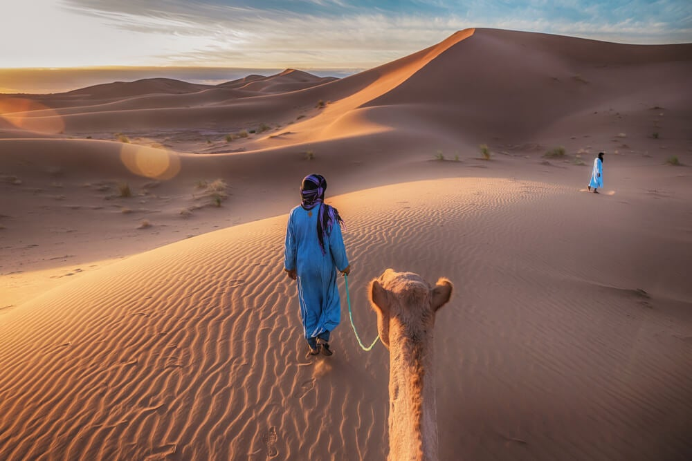 Nómadas tuareg