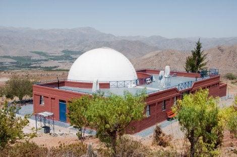 Observatorio de estrellas de cerro Mamalluca