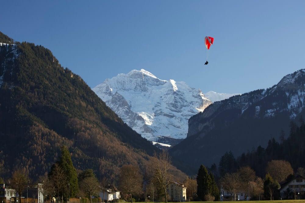 Paracaidistas en Interlaken