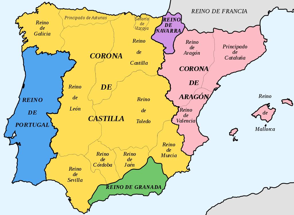 Organización territorial en el Antiguo Régimen