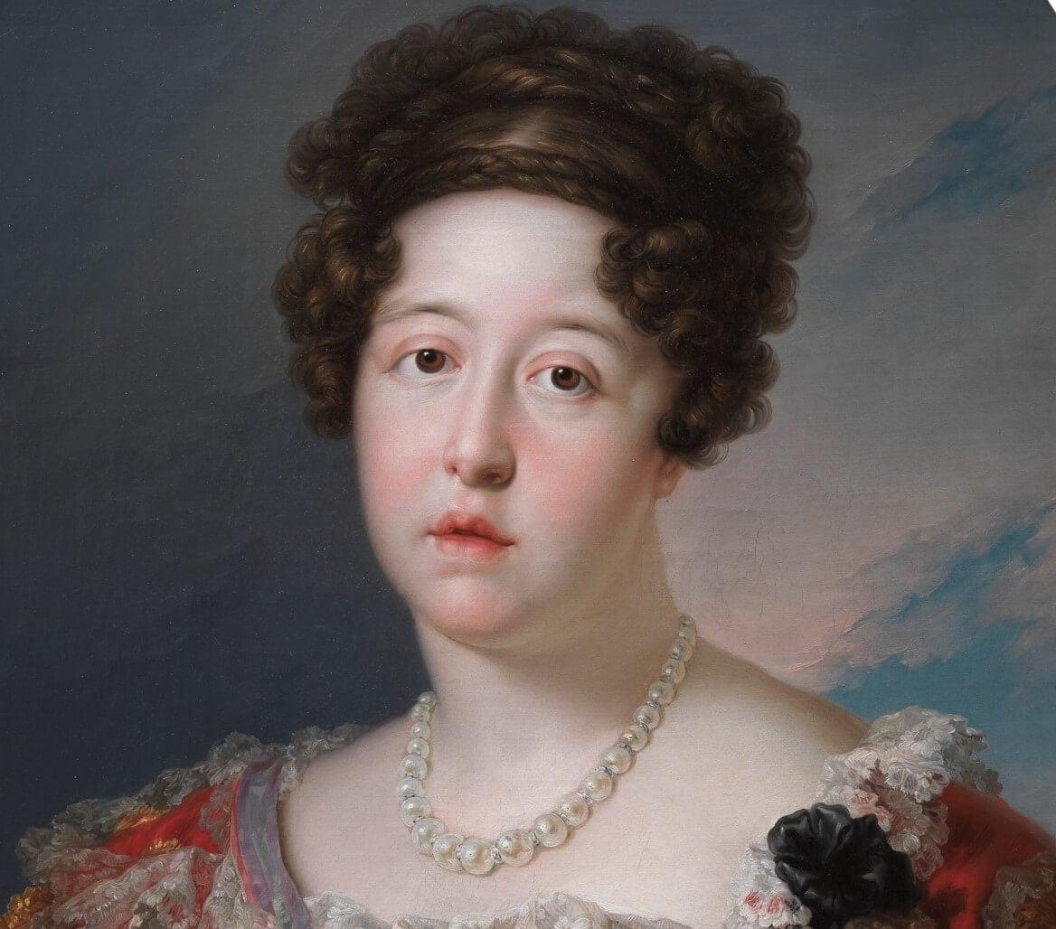 Retrato de Isabel de Braganza
