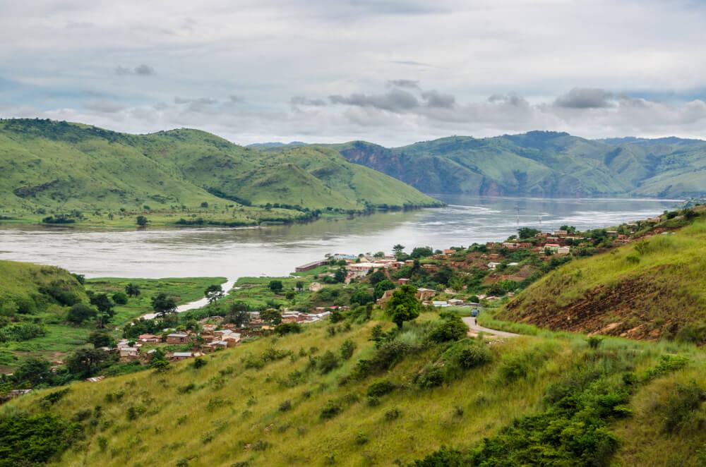 Río Congo, una de las cuencas hidrográficas más importantes