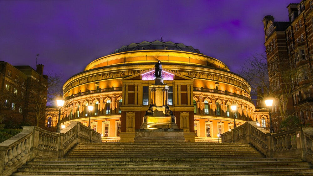 Royal Albert Hall por fuera