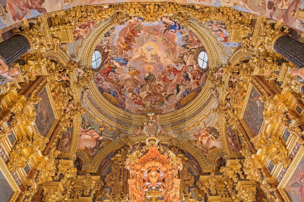 Sancata Sanctotum de la cartuja de Granada