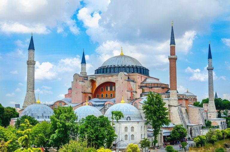 Historia de la basílica de Santa Sofía en Estambul
