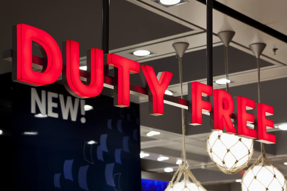 Señal de Duty Free