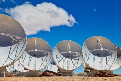 Telescopios del Proyecto ALMA