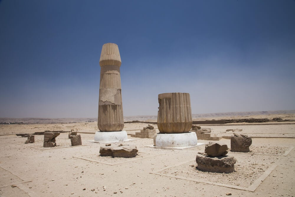 Templo en Amarna