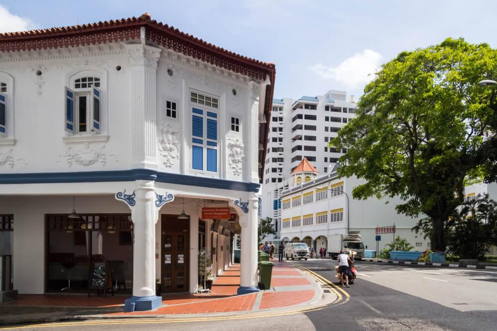 La vida en las calles de Tiong Bahru, en Singapur