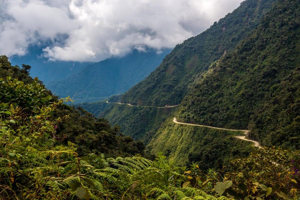 Recorremos la Carretera de la Muerte de Bolivia