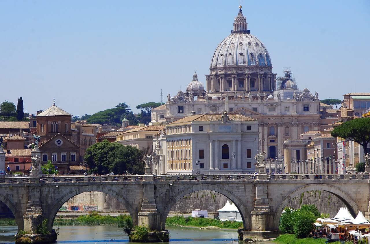 Vista del Estado de la Ciudad del Vaticano