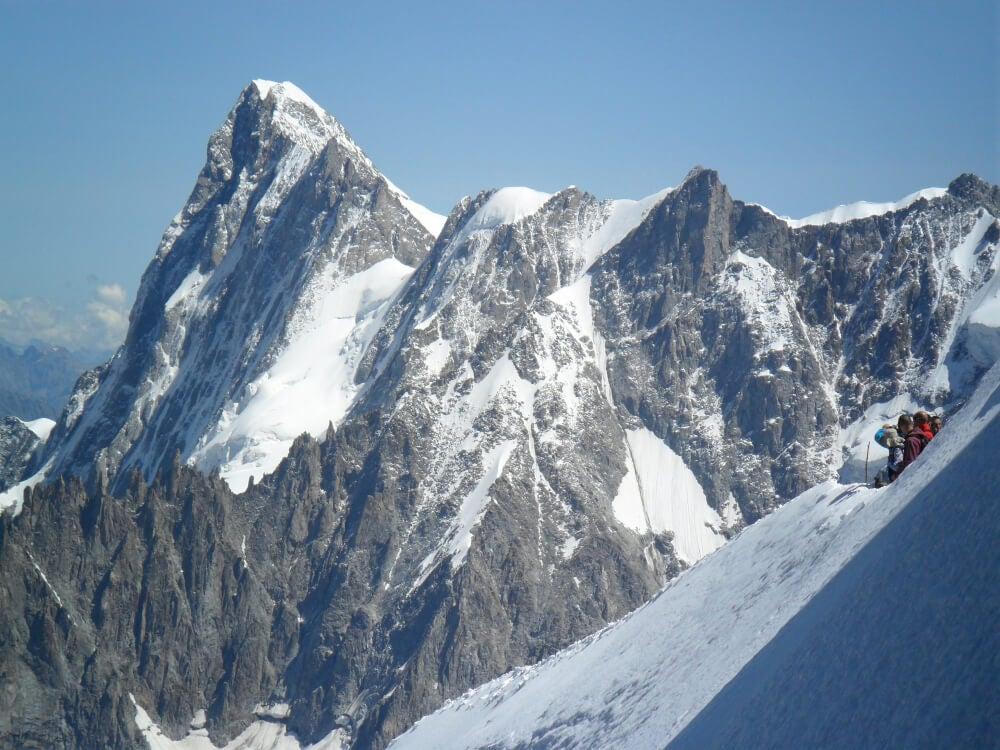 Vista del Mont Blanc